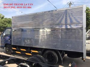 Xe tải iz49 đô thành 2,4 tấn giá thùng kín khuyến mãi
