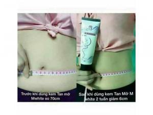 Kem Tan Mỡ M'white