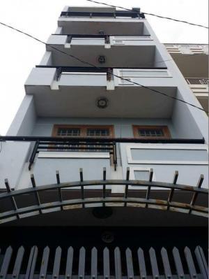 Cho thuê nhà nguyên căn quận 7 , 4 tầng 6...