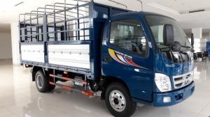 Thaco Gò Dầu bán xe tải Foton Ollin345 máy Isuzu tải 2.4T, có trả góp