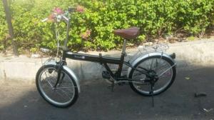 Xe đạp xếp Nhật TOPONE (hàng bãi )