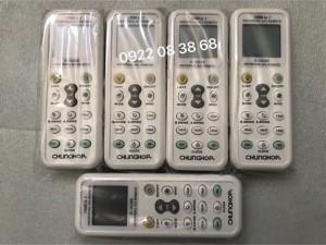 Remote Máy Lạnh ĐA NĂNG, Mới 100%,dùng được cho tấc cả các hãng Máy Lạnh, Giá 100k