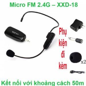 Micro không dây FM XXD-18 - FM XXD-18 (BH-6 Tháng)