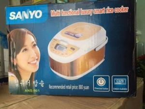 Nồi cơm điện tử Sanyo ANS-901 HÀNG MỚI 100%.