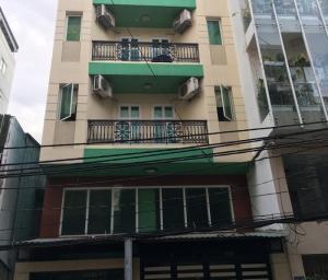 Bán CHDV hầm 6 lầu, MT Trần Quý Khoách, Q1, dt 8x16m, TN thuê 160tr