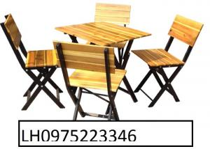 Chuyên sản xuất bàn ghế gỗ dùng quán cafe giá cực rẻ.