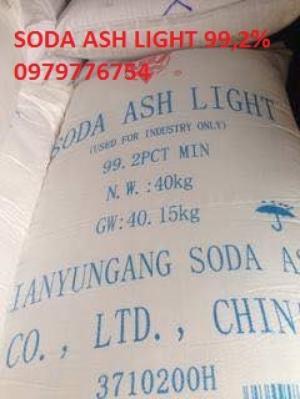 Mua bán Soda ash light liên vận cảng – Na2CO3 Natri Cacbonat 99,2%
