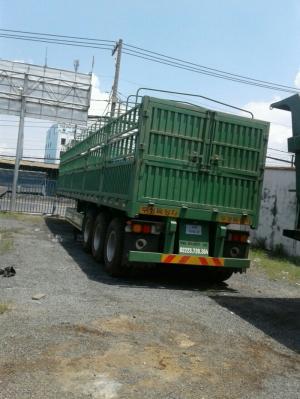 Chuyên bán rơ mooc khung mui Doosung 3 trục 31 tấn ,giao xe toàn quốc