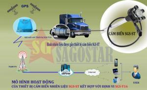 Cảm biến nhiên liệu chuyên dụng kết hợp với thiết bị giám sát hành trình SGS-T16 giành cho các doanh nghiệp vận tải có nhu cầu quản lý nhiên liệu!