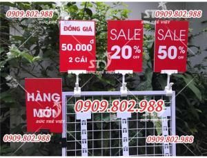 Kẹp bảng giá tại Hà Nội, Kẹp bảng giá tại Hồ Chí Minh, bán kẹp bảng giá cửa hàng thời trang,