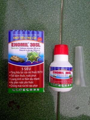 Siêu trợ lực: Giúp tăng tác dụng của thuốc bảo vệ thực vật hay phân bón qua lá.