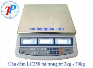 Cân điện tử LC258 3kg, 6kg, 15kg, 30kg thông dụng