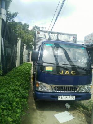 Bán xe tải Jac 2t4 vào thành phố, hỗ trợ trả góp 0đ, giá cực rẻ