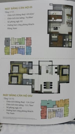 Chung cư An Phú mở bán 212căn hộ có diện tích từ 65m2 đến 128m2