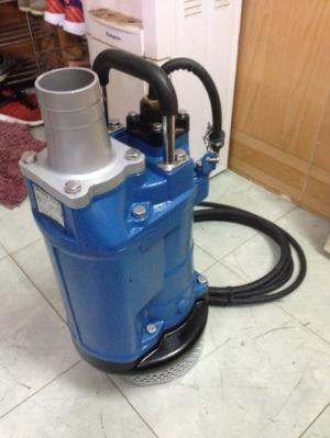 Máy bơm chìm nước thải Tsurumi KTZ45.5 , công suất: 5.5KW/380V