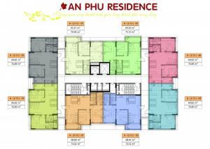 Bán  chung cư An phú, đường Phan Chu Trinh - Khai Quang