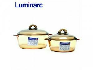 Combo 2 nồi thủy tinh Luminarc Vitro