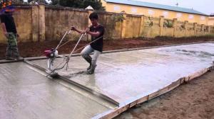 Máy đầm thước , máy làm mặt bê tông Honda Gx 35 Thái Lan