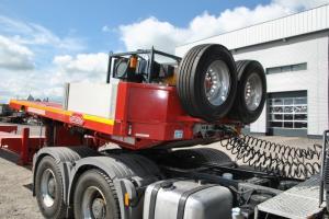 Chuyên bán Rờ Mooc Siêu Trường Nooteboom nhập khẩu từ Pháp 120 tấn , 8 trục tại miền Nam