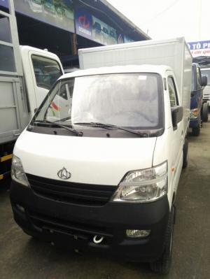 Xe tải Veam Star 850kg thùng kín, màu trắng, trả góp 95%