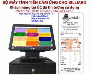 Máy tính tiền trọn bộ giá rẻ cho quán karaoke, spa tại Vĩnh Long, Đồng Tháp