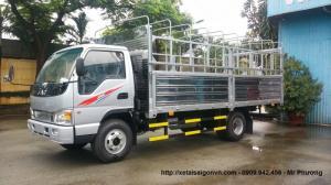 Mua / bán xe tải cũ/giá xe tải cũ / xe tải jac thùng mui bạt dài 4m - hỗ trợ vay 30- 90%