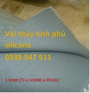 Vải thủy tinh phủ silicone - Vải thủy tinh silicone tphcm