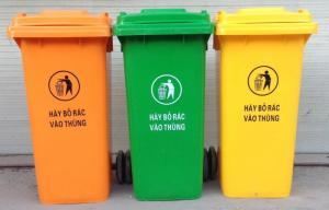 Thùng rác nhựa giá rẻ Hà Nội