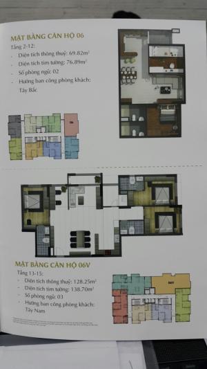 Chung cư An Phú mở bán 212 căn hộ có diện tích từ 70 m2 đến 128m2