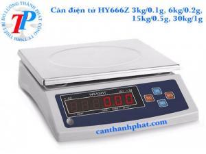 Cân điện tử HY666Z , cân điện tử 3kg - 30kg độ chính xác: 0.1g, 0.2g, 0.5g, 1g, Cân Đài Loan