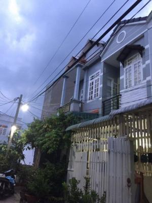 Bán nhà hẻm 2295 Huỳnh Tấn Phát, tt nhà bè, dt 4.3x15m, nở hậu, hẻm 6m