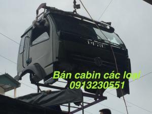 Bán cabin xe Cửu Long tmt ben, hoa mai, Việt...