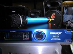Micro không dây Shure BLX C9 mới 100% Hàng nhập khẩu 100%