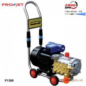 Máy bơm xịt rửa mini, rửa xe dùng trong gia đình Projet P1300