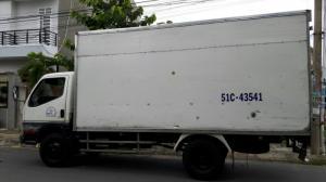 Xe tải thùng Mitsubishi cũ