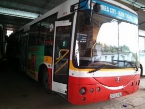 Lô xe bus Trung Quốc 2006 tuyến bus nội đô Hà Nội