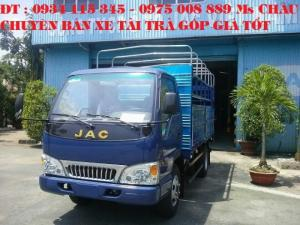 Xe tải jac 2.45 Tấn/ 2 Tấn 4/ jac 2.4t/ jac 2t4/ jac 2.4 tấn chạy trong thành phố động cơ isuzu.