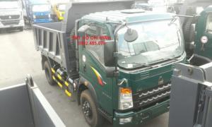 Xe tải ben tự đổ 6,5 tấn 1 cầu TMT Cửu Long mới