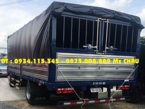 Đại lý bán Xe tải Jac 4T9( jac 4.9 tấn) jac 4.9T trả góp lãi suất ưu đãi uy tinh chất lượng hàng đầu.