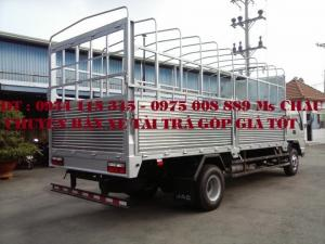Đại lý chính hãng xe Jac 4.9 tấn/5 tấn giá ưu đãi - Bán xe tải Jac 4,9T/4T9 cạnh tranh thị trường