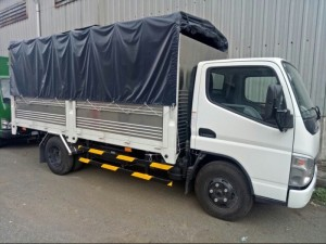 Xe tải fuso canter 4t7- hỗ trợ vay cao