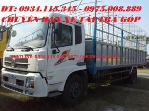 Xe tải DongFeng B170 động cơ Cumin, Xe dongfeng 9 tấn B170 nhập khẩu trả góp.