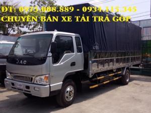 Báo giá xe tải JAC 7.25 tấn, Mua xe tải JAC 7T25 trả góp, Giá xe tải JAC 7.25T (7T25) rẻ nhất