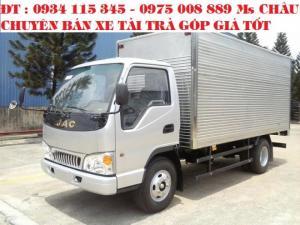 Cần bán Xe tải jac 1.49t/  jac 1,49 tấn/ jac 1T49/ jac 4t9/ jac 1 tấn 49 trả góp vay vốn đén 90%