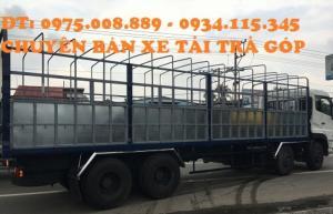 Giá xe tải Dongfeng hoàng Huy L315( 4 chân) dongfeng l315 ( 17.8 tấn)  máy Cumin nhập khẩu 100%