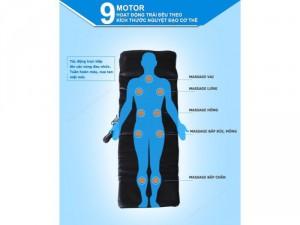 Đệm Rung Massage Hồng Ngoại 9 Bi Giá Rẻ