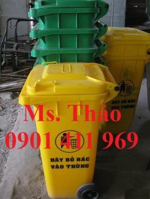 Thùng rác công cộng 60 lít, thùng rác nhựa 60...