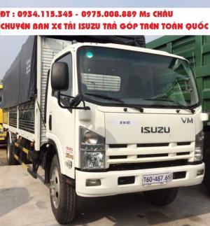 Mua bán xe tải Isuzu FN 129 tải trọng 8.2 tấn - 8T2 thùng dài 7m| Xe tải thùng Isuzu 7T8 – 8 tấn thùng kín, thùng bạt, chassis giá tốt nhất.