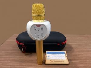 Micro karaoke ZBX 66 chính hãng - mic kèm loa bluetooth