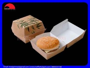 Hộp Hamburger - Hộp Giấy Takeaway